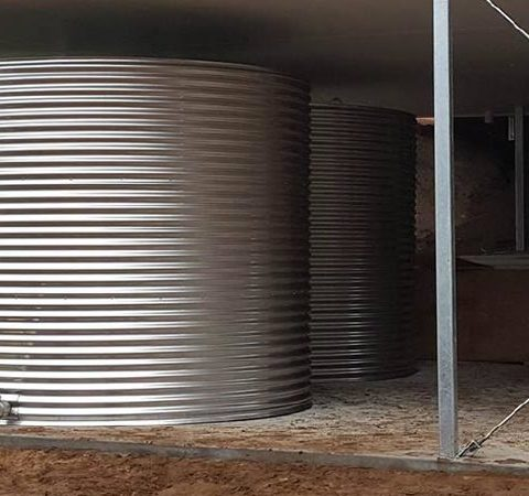 Grade 304 stainless steel water tanks for farms