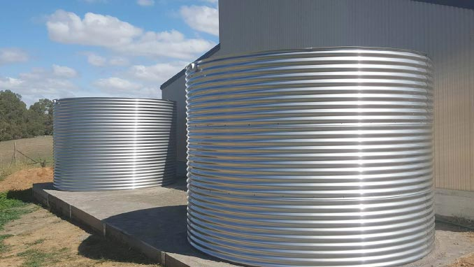 Grade 316 Stainless Steel Water Tanks
