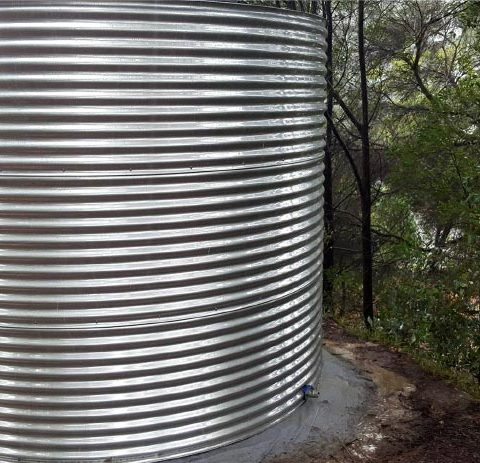 Stainless steel tanks for Geelong residents
