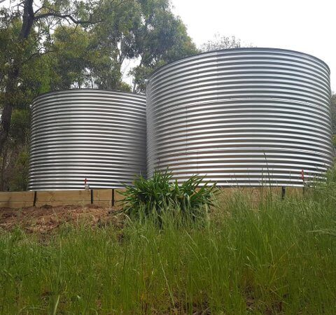 Gippsland stainless steel water tanks