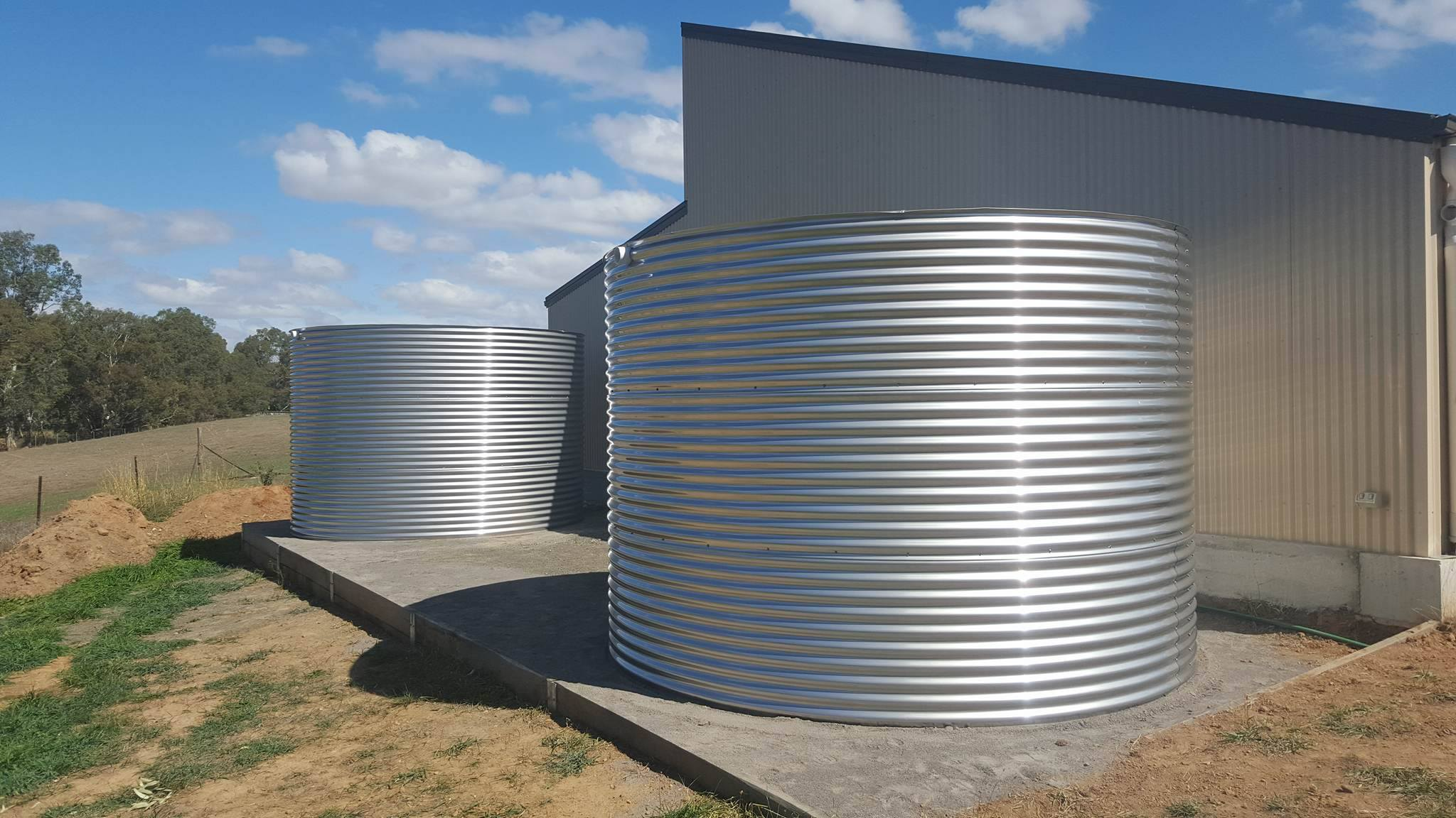 Industrial Water Tanks - Stainless Steel Tanks